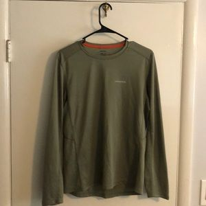 Patagonia active wear long sleeve